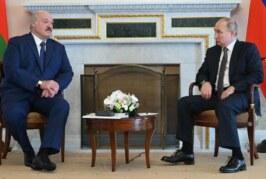 Путин и Лукашенко обсудили размещение войск НАТО на Украине — РИА Новости, 27.09.2021