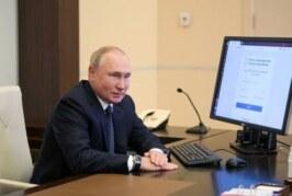 Путин назвал «мрачноватой» шутку Жириновского о смехе перед арестом — РИА Новости, 27.09.2021